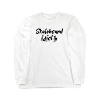 Sk8ersLoungeのスケボー馬鹿TEE Long sleeve T-shirts