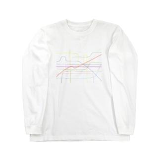 透過したい、します、なんか違う。 Long sleeve T-shirts