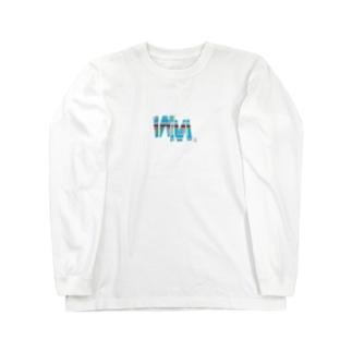 angel22のWM©︎(ポップチェック Long sleeve T-shirts