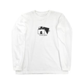 ちぇるしーHome(黒) Long sleeve T-shirts