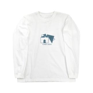 ちぇるしーHome(青) Long sleeve T-shirts