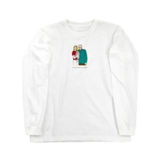 グッドモーニング。 Long sleeve T-shirts