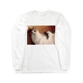 にゃんさん Long sleeve T-shirts
