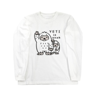 CT94 YETI is yeah*A4000 Long sleeve T-shirts