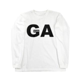 GA~我~ Long sleeve T-shirts