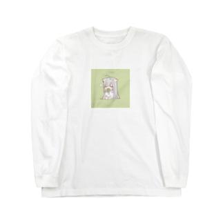 mafu green Long sleeve T-shirts