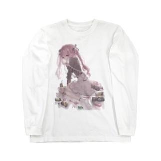 地雷爆発 Long sleeve T-shirts