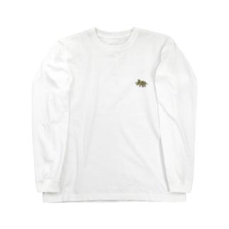 トリケラトプス Long Sleeve T-Shirt