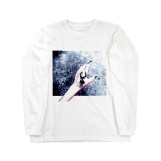 鹿 Long sleeve T-shirts