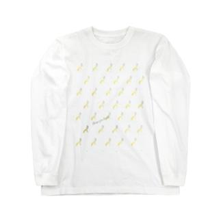 CYB pattern Long sleeve T-shirts