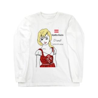 ディアンドル Long sleeve T-shirts