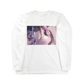 地雷てゃ Long sleeve T-shirts