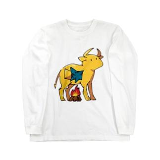 ファラリスの雄牛とサメくん Long Sleeve T-Shirt