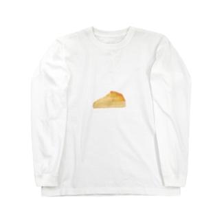 チーズケーキ Long sleeve T-shirts