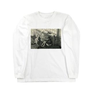 kurobee0510の朝の図書室 Long sleeve T-shirts