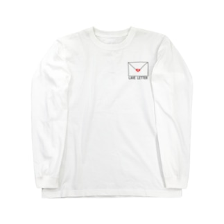 LAVE LETTER Long sleeve T-shirts
