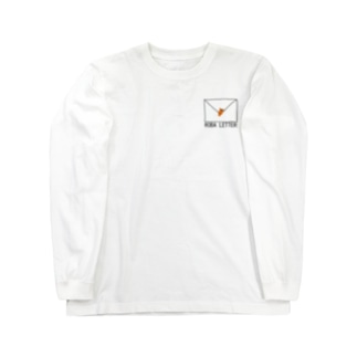 ROBA LETTER Long sleeve T-shirts
