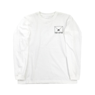 HIGE LETTER Long sleeve T-shirts