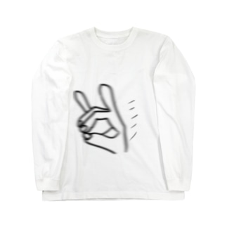 高速のきつね Long sleeve T-shirts