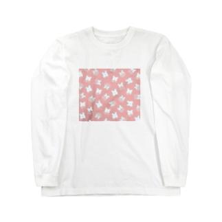 *んぱ*のもりのぱんつぷに Long sleeve T-shirts