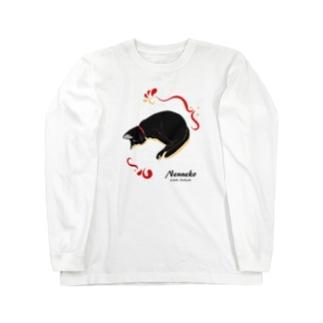 【8色】ねんねこロンT Long sleeve T-shirts