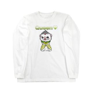 クイーン エリキャベツ Long sleeve T-shirts