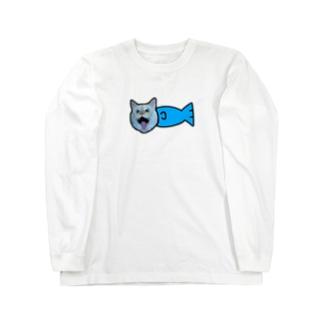 まりうお Long sleeve T-shirts