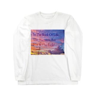 偉人の名言×OKINAWA Long sleeve T-shirts