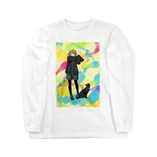準備運動よしっ! Long sleeve T-shirts