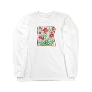 アネモネトースト Long sleeve T-shirts