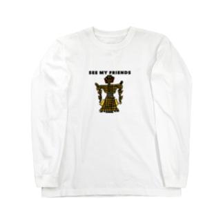 ヤサイボーグ2 Long sleeve T-shirts