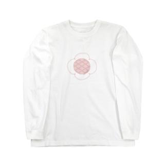 お花 Long sleeve T-shirts
