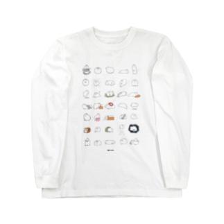 もっと!いっぱい毛玉ちゃん Long sleeve T-shirts