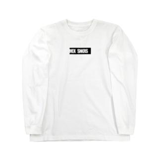 ボックスロゴ・クロ Long sleeve T-shirts