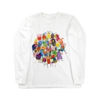 ちょこっと妖精 Long sleeve T-shirts