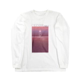 CALENDAR 1・9・8・4 MARINA MIZUSHIMA TRAVEL AGENCY Long sleeve T-shirts