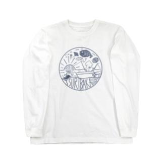 釣りバカ~Tsuribaka~ロゴ風デザイン Long sleeve T-shirts