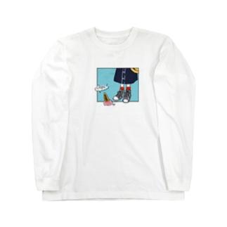 ハルイロのOops! Long sleeve T-shirts