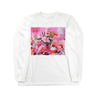 チョコレートパフェ🍨 Long sleeve T-shirts