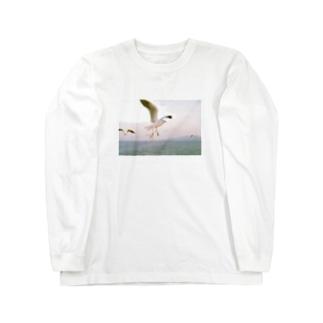 鴎 Long Sleeve T-Shirt