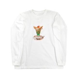バナナパフェ Long Sleeve T-Shirt