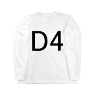 Sakana-manのD4 Long Sleeve T-Shirt