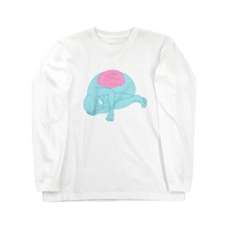 ワシとこんたん Long sleeve T-shirts