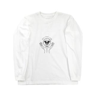 牛くん Long sleeve T-shirts