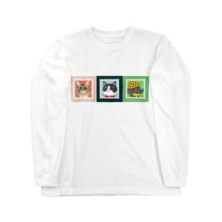 おかかとあかっちとグレッチ Long sleeve T-shirts