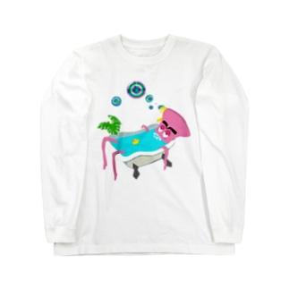 綺麗好きの極楽タイム Long sleeve T-shirts
