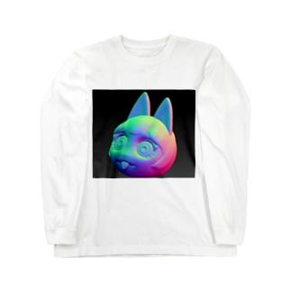 ぺろっ Long sleeve T-shirts