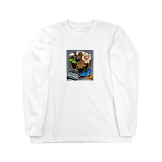 しげちゃんのびっくり箱 Long sleeve T-shirts
