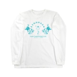 東京魂掴神倶楽部-青- Long sleeve T-shirts