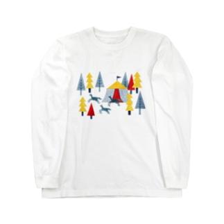 サーカスの森 Long sleeve T-shirts